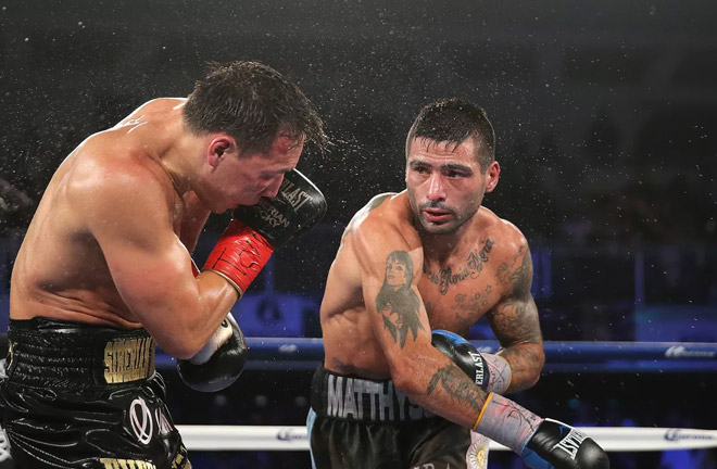 Matthysse is a formidable puncher with nearly 40 knockouts. Photo Credit: Bad Left Hook