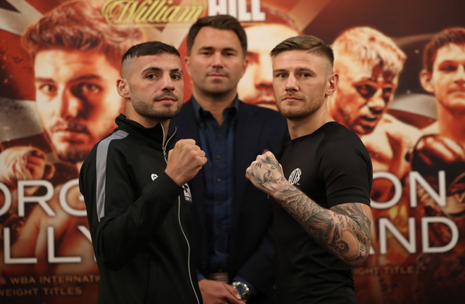 Lewis Ritson is right on schedule to land the British Lightweight title. Photo Credit: Lawrence Lustig