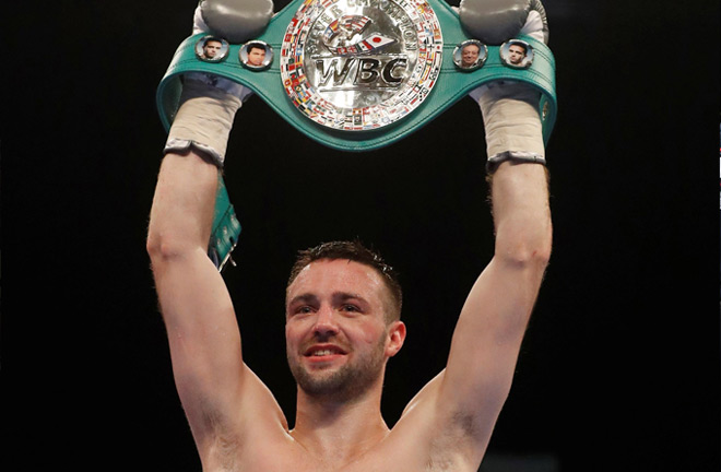 Josh Taylor hoping to take next step towards WBC. Photo Credit: The Independent