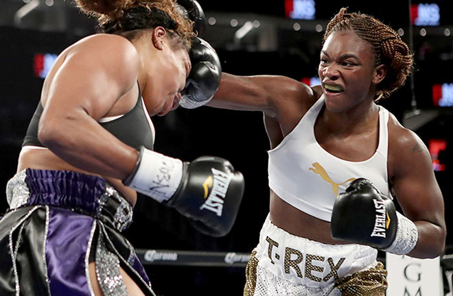 Claressa Shields can't wait for Friday night. Photo Credit: Boxing News