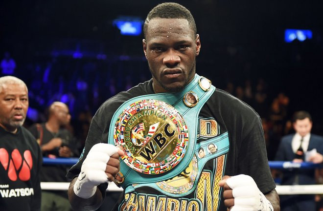 Wilder could he heading to Britain for a battle with Joshua Photo Credit: Sky Sports