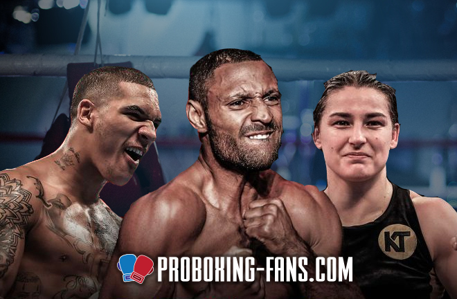 Conor Benn, Kell Brook, and Katie Taylor all added to the BWhyte vs Parker under-card.
