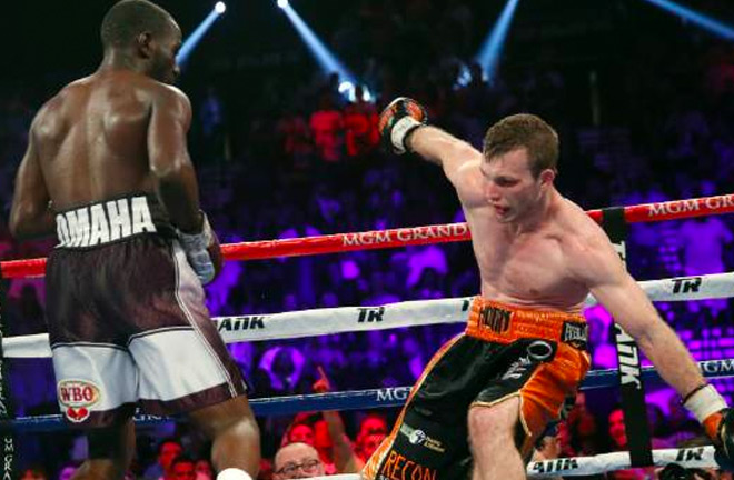 Terence Crawford proved to strong for Jeff Horn at the MGM Grand, Las Vegas last night.