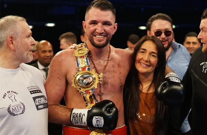 Hughie Fury edging closer to fighting Anthony Joshua. Photo Credit: East Side Boxing