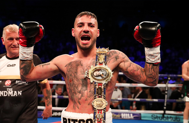 Lewis Ritson says he feels unstoppable right now. Photo Credit: Lawrence Lustig