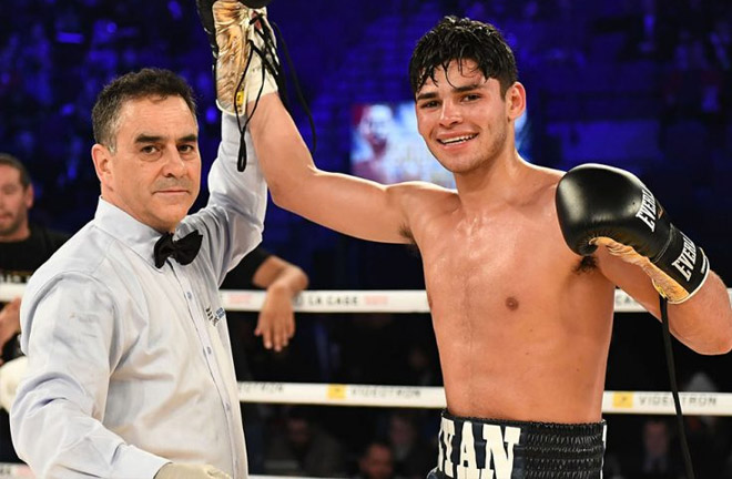 Ryan Garcia: '2018 is gonna be an amazing year for me' Photo Credit: The Ring Magazine