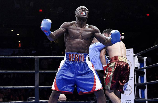 Berto is looking forward to stepping in the ring with Alexander. Photo Credit: Sporting news