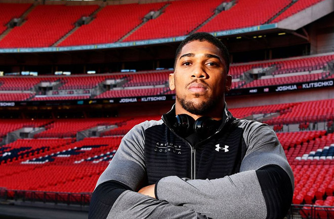 Anthony Joshua next two fights to be staged at Wembley Stadium. Photo Credit: Sky News