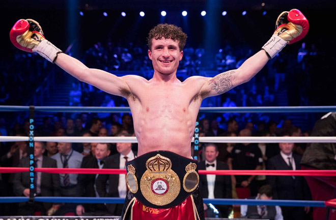Robbie Davies Jnr has signed a three-fight deal with Matchroom Boxing. Photo Credit: British Boxers BBTV