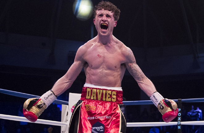 Davies Jr expresses his delight in joining Matchroom. Photo Credit: World Boxing News