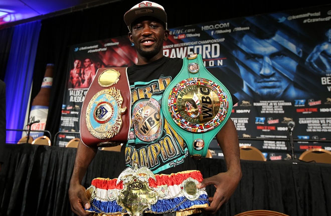 Crawford is a world champion in three different weight classes. Photo Credit: Boxing Scene