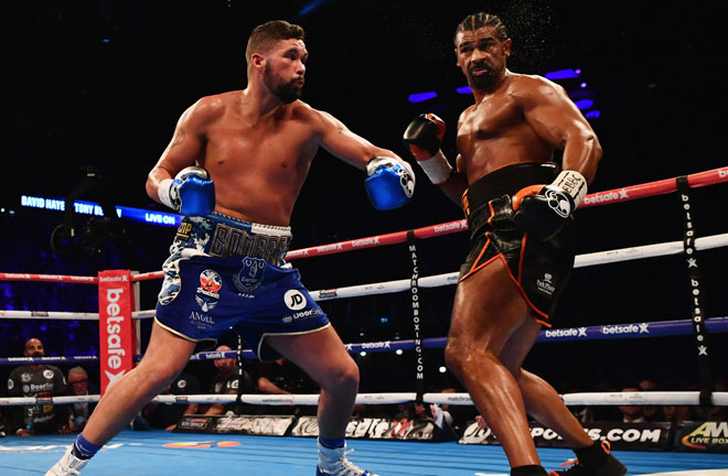 Tony Bellew defeated David Haye on two separate occasions. Photo Credit: Betting Apps