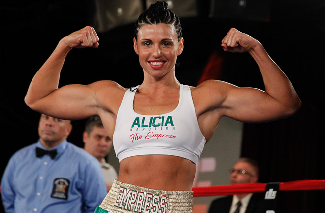 Super Middleweight champion ready to defend her title on August 4. Photo Credit: DiBella Entertainment