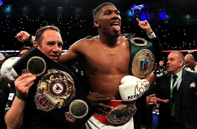 Joshua: I can't wait to get back in the ring. Photo Credit: Sporting News