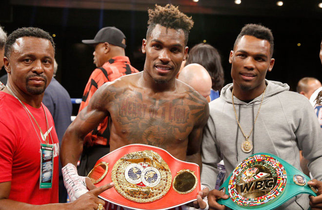 Jermall Charlo makes a first defence of his WBC crown Credit: Sky Sports