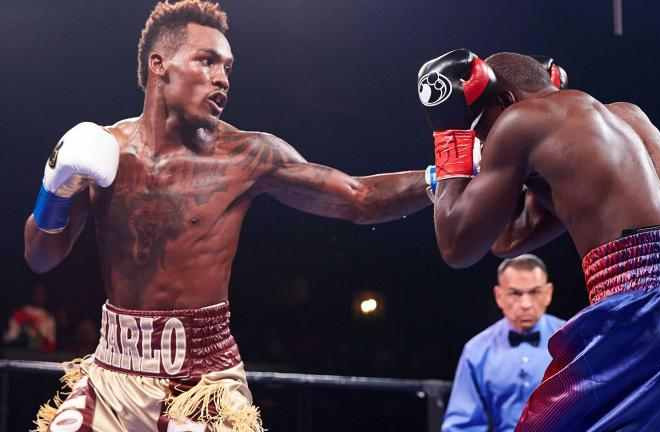 Jermall Charlo vacated IBF title to move up to 160 pounds. Photo Credit: FightBookMMA