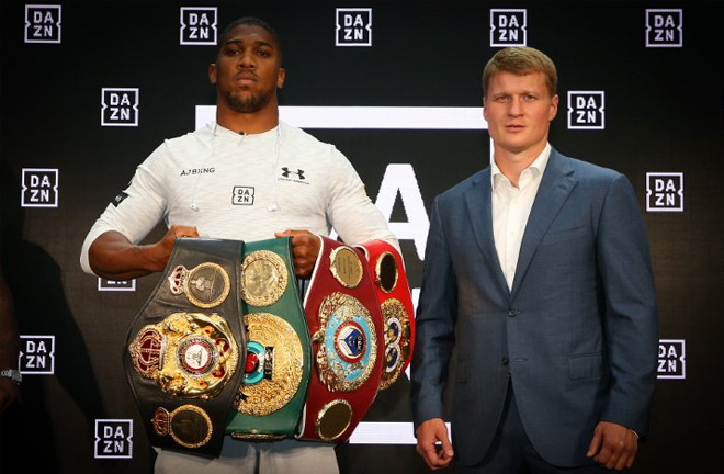 Joshua: Povetkin has power to knock out anyone. Photo Credit: Boxingnews