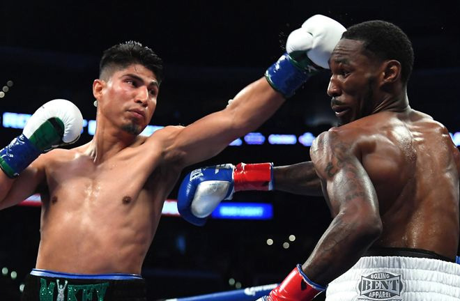 Garcia dominated Easter in front of a pro-Garcia crowd at Staples Center. Photo Credit: Sky Sports