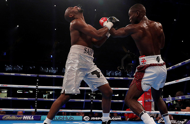 Buatsi is ready for Summers challenge. Photo Credit: Boxing News
