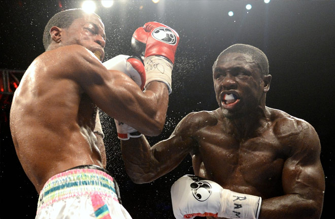 Andre Berto returns on August 4. Photo Credit: The Ring Magazine