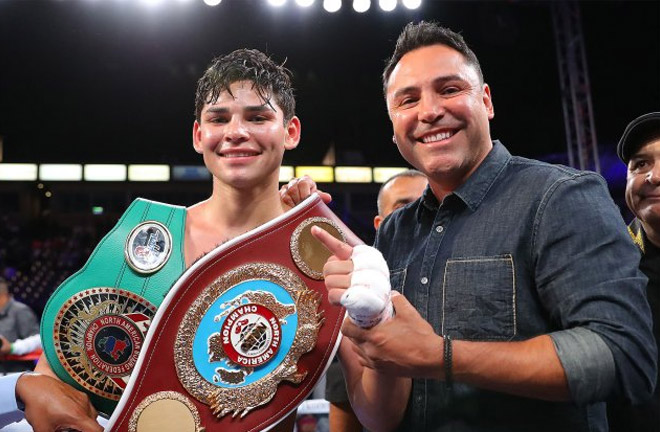 Ryan Garcia is taking a fast track to a World Title fight. Photo Credit: Boxing Scene