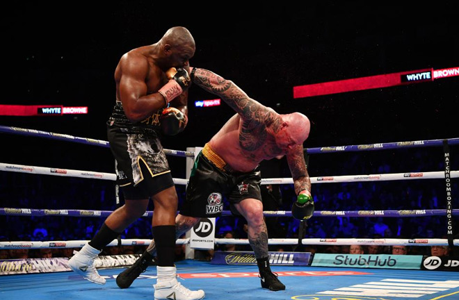 Whyte produced a brutal knockout against Lucas Browne at The O2. Photo Credit: forbes.com