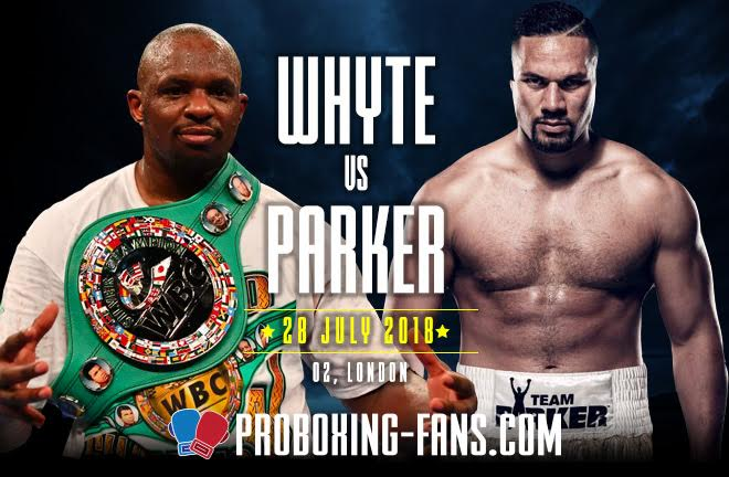 Whyte-Parker Fight Preview & Prediction