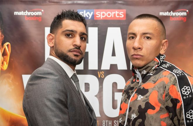 Vargas: I have the power to knockout Khan. Photo Credit: Sky Sports