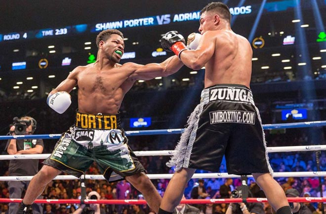 Porter cannot wait to put on a good show. Photo Credit: Premier Boxing Champions