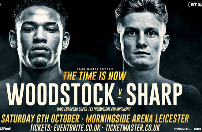 Sharp: I will be too clever for Woodstock. Photo Credit: Frank Warren