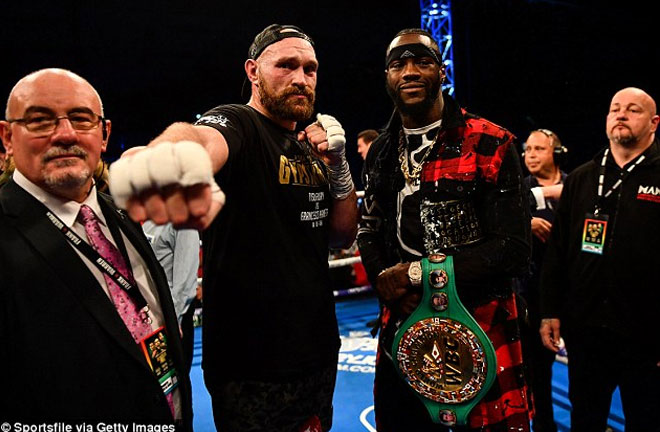 The Fury-Wilder fight announcement is imminent. Photo Credit: RingNews24