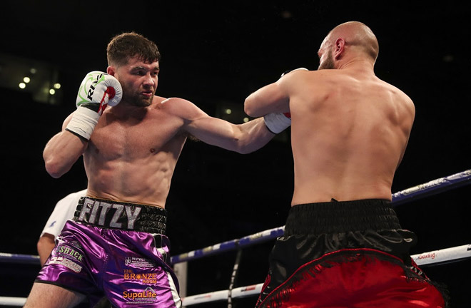 Fitzgerald keen for a match-up with fellow rising star Anthony Fowler. Photo Credit: Matchroom Boxing