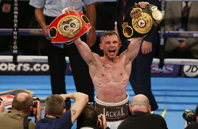 Carl Frampton is ready for world titles again. Photo Credit: The Telegraph
