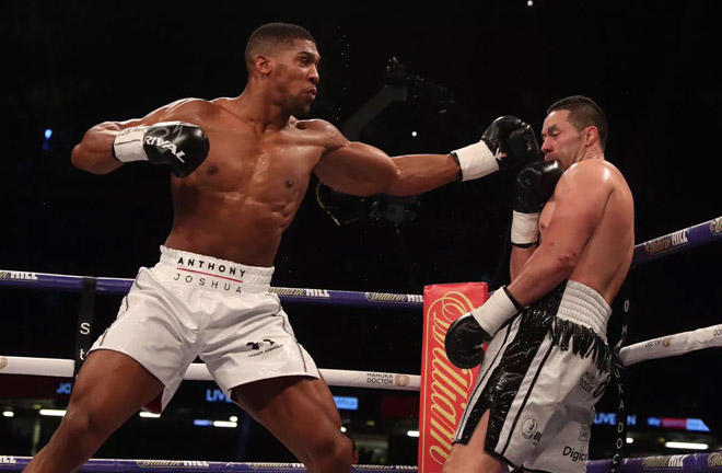 According to Wilder Joshua has not signed the contract. Photo Credit: Bad Left Hook