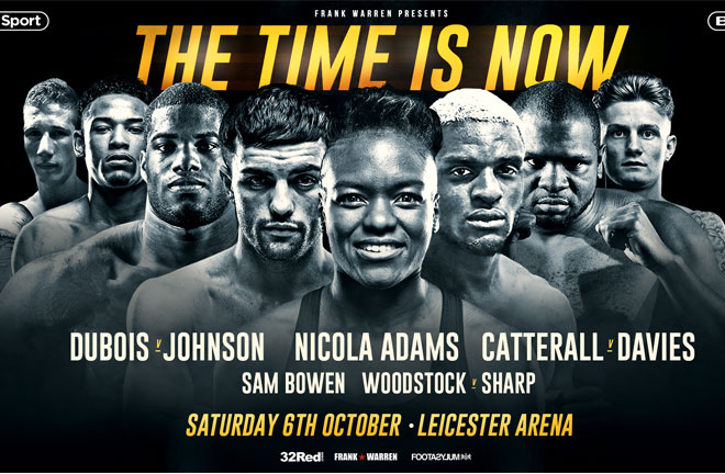 Frank Warren announces big show for October 6 in Leicester.