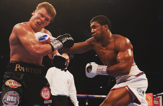 Joshua makes his first return to the capital since stopping Alexander Povetkin at Wembley in September 2018