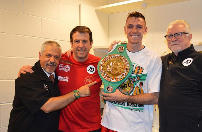 Joe Gallagher: Both have the power to end the fight with one shot. Photo Credit: World Boxing Super Series