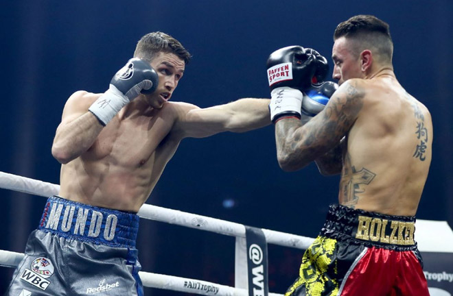 Smith defeated Nieky Holzken by unanimous points decision in the last round of The World Boxing Super Series. Photo Credit: ESPN
