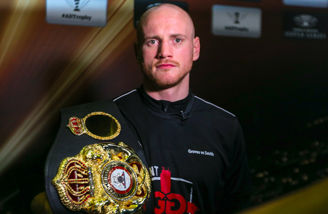 Groves-Smith feeling relaxed ahead of their much anticipated fight this Friday. Photo Credit: World Boxing Super Series