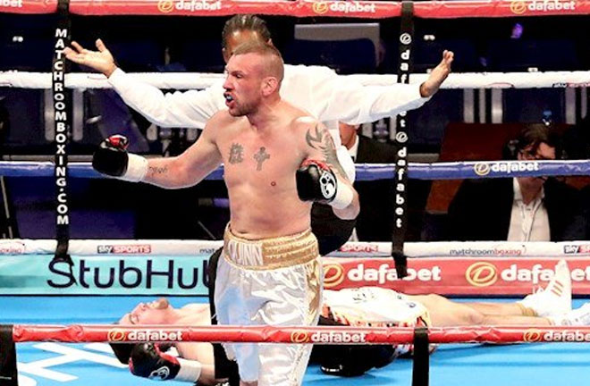 JJ McDonagh getting his big chance against Chris Eubank Jr on the undercard of Groves-Smith. Photo Credit: Irish Examiner