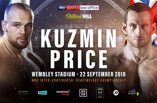 Kuzmin vs Price added to the Joshua-Povetkin undercard. Photo Credit: Matchroom Boxing