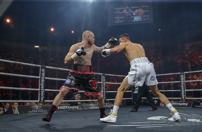 Groves vs Smith - Ali Trophy. Photo Credit: World Boxing Super Series.