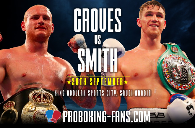 Groves-Smith Fight Preview & Prediction ahead of their fight this Saturday