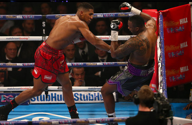 A night to remember: Joshua KO on Whyte in 2015
