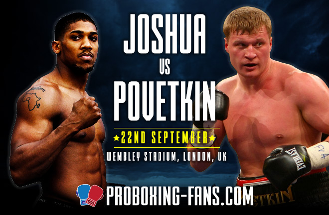 Joshua vs Povetkin - Fight Preview and Prediction by Paul Mason, Pro Boxing Fans