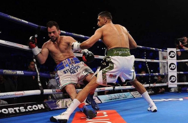 Khan announced his return against Phil Le Greco with a 1st Round KO.