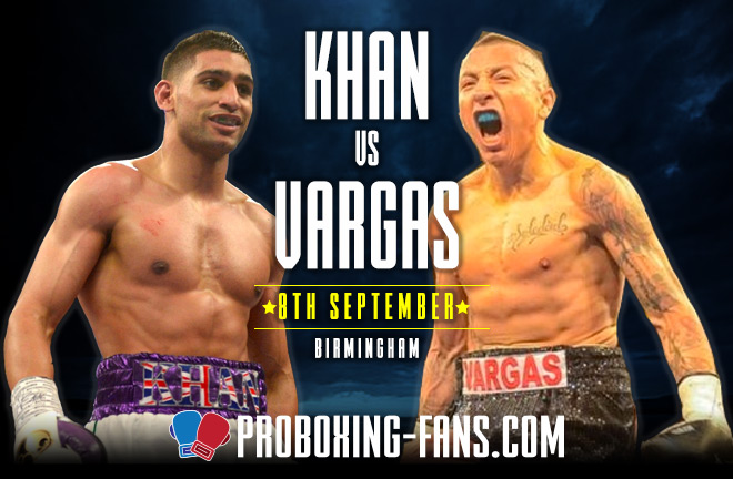 Amir Khan vs Samuel Vargas – Fight Preview and Prediction