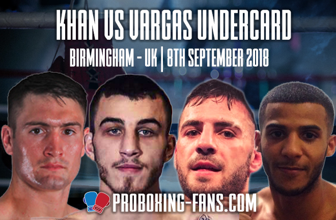Khan vs Vargas - Undercard Preview