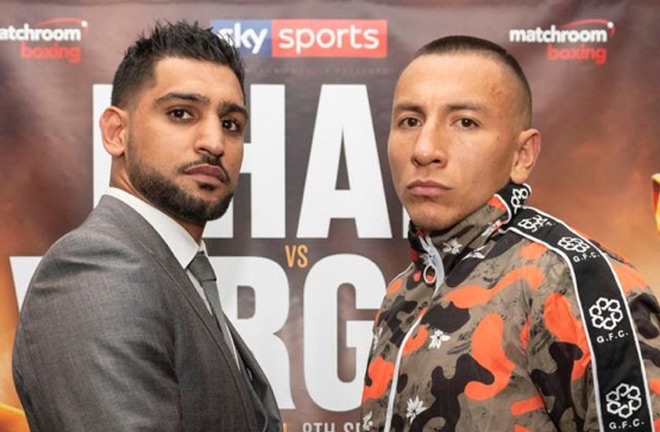 Khan vs Vargas is the main event this Saturday. Catch the action live on Sky Sports in the UK.