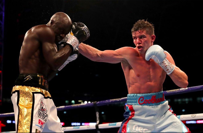Luke Campbell controlled the fight against Mendy from start to finish.